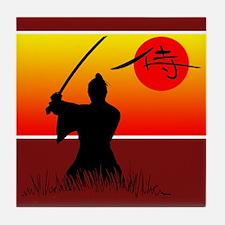 Samurai Spirit 2 Tile Coaster