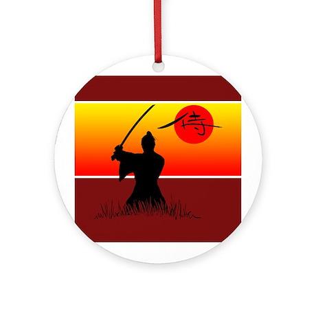 Samurai Spirit 2 Ornament (Round)