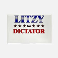 LITZY for dictator Rectangle Magnet