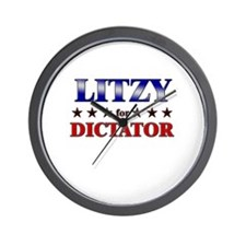 LITZY for dictator Wall Clock