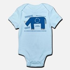 Rhino Facts Infant Bodysuit