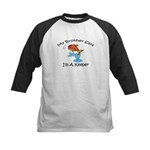I'm A Keeper Brother Kids Baseball Jersey