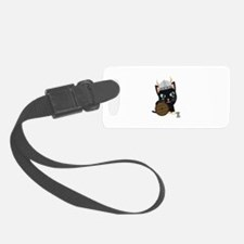 Viking cat Luggage Tag
