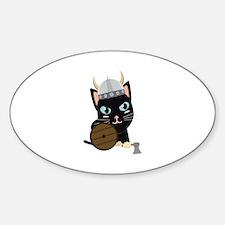 Viking cat Decal