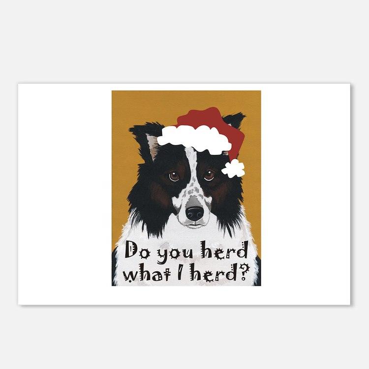 Australian Shepherd Do You Herd Postcards (Package