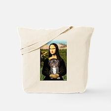 Mona / Shih Tzu(br&w) Tote Bag