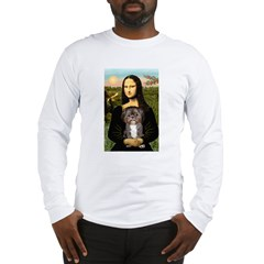 Mona / Shih Tzu(br&w) Long Sleeve T-Shirt