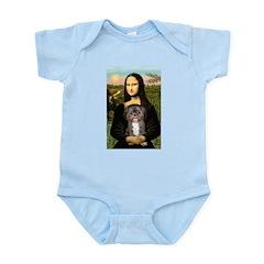 Mona / Shih Tzu(br&w) Infant Bodysuit