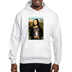 Mona / Shih Tzu(br&w) Hoodie