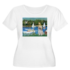 Bassin/Shih Tzu (P) T-Shirt