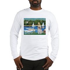Bassin/Shih Tzu (P) Long Sleeve T-Shirt