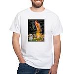 MidEve/Shih Tzu (P) White T-Shirt