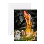 MidEve/Shih Tzu (P) Greeting Cards (Pk of 10)