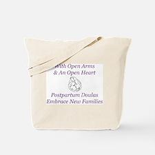 Postpartum Doulas Embrace Tote Bag