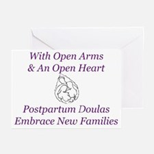 Postpartum Doulas Embrace Thank You Cards