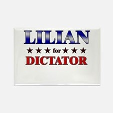 LILIAN for dictator Rectangle Magnet