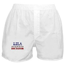 LILA for dictator Boxer Shorts