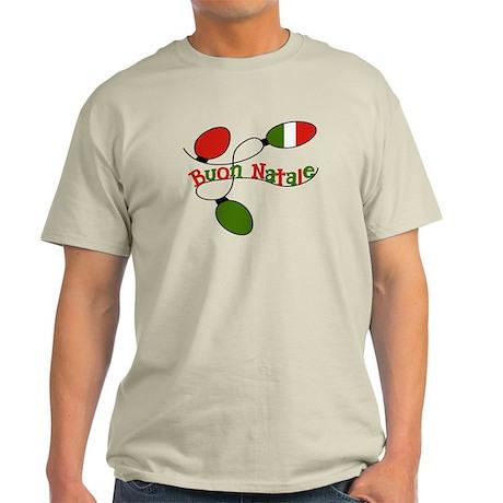 Buon Natale Italian Christmas Light T-Shirt