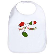 Buon Natale Italian Christmas Bib