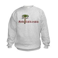 Hawaiian Christmas Sweatshirt