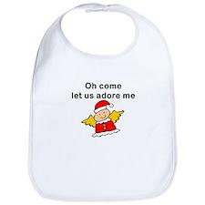 Adore Me Angel Christmas Bib