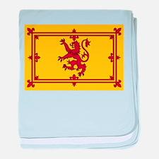 Cute Scottish flag baby blanket