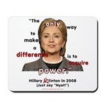 Hillary Power Hungry Mousepad