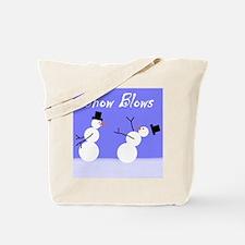 Snow Blows Tote Bag