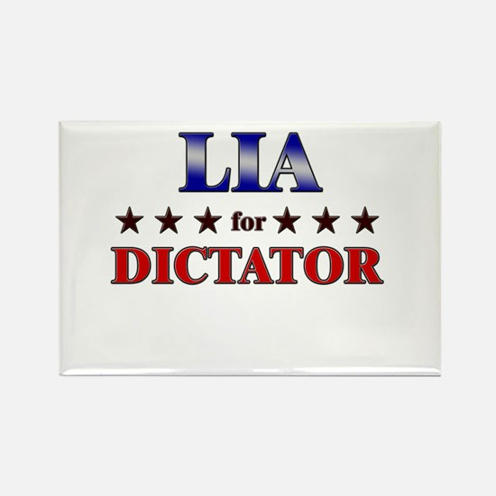 LIA for dictator Rectangle Magnet
