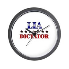 LIA for dictator Wall Clock