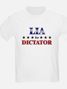 LIA for dictator T-Shirt