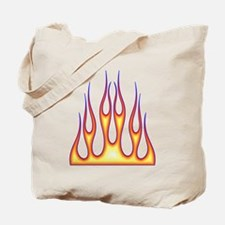 Old School Flame Job Tote Bag