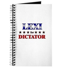 LEXI for dictator Journal