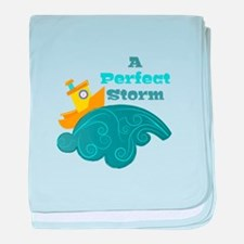 Perfect Storm baby blanket