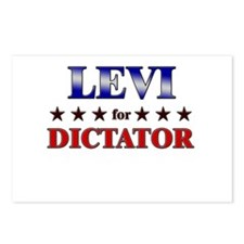 LEVI for dictator Postcards (Package of 8)