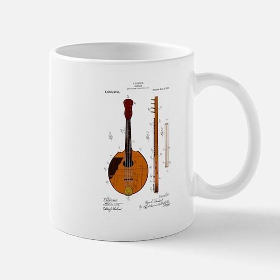 Mandolin Patent Mug