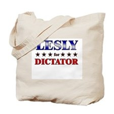 LESLY for dictator Tote Bag