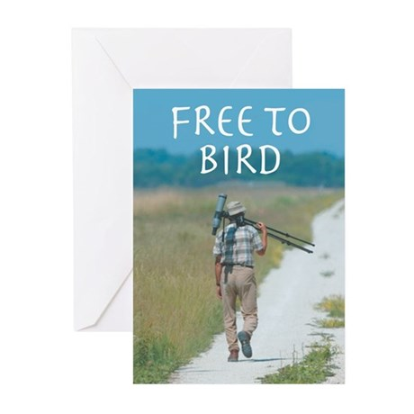 Free To Bird GREETING CARDS (10)