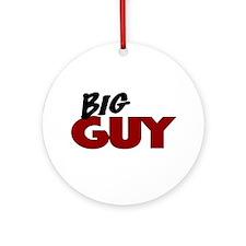 Big Guy Ornament (Round)
