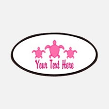 Pink Sea Turtle Name Patch