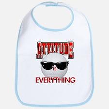 Attitude is Everything Bib