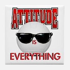 Attitude is Everything Tile Coaster
