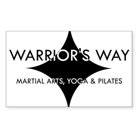 Warrior's Way Rectangle Sticker
