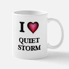 I Love QUIET STORM Mugs