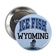 "Ice Fish Wyoming 2.25"" Button (10 pack)"