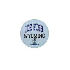 Ice Fish Wyoming Mini Button