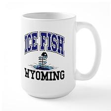 Ice Fish Wyoming Mug