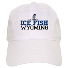 Ice Fish Wyoming Baseball Cap