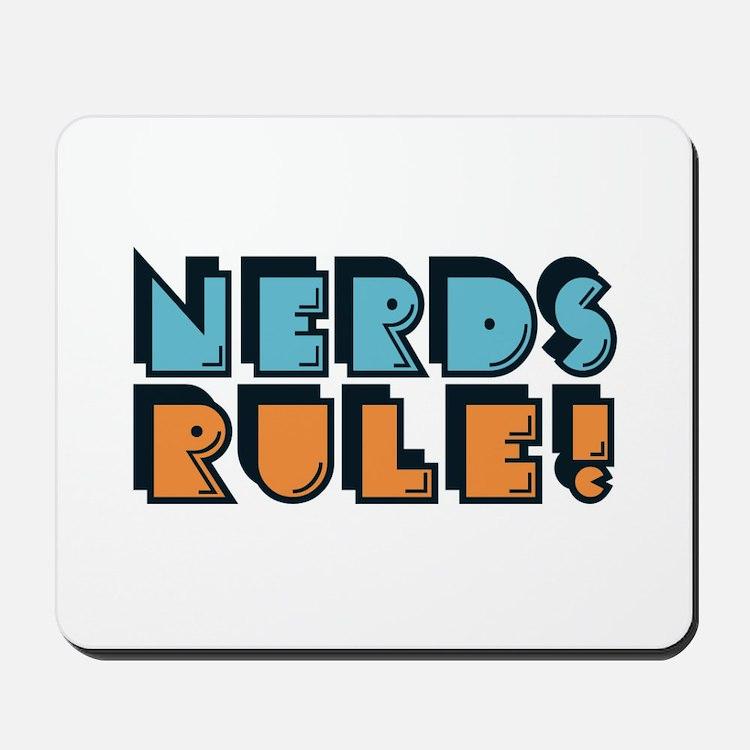 Nerds Rule! Mousepad