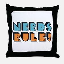 Nerds Rule! Throw Pillow